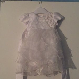 White dress for babies